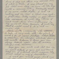 1943-08-22 Maurice Hutchison to Lloyd Davis Page 2