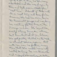1943-01-13 Laura Davis to Lloyd Davis Page 2