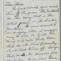 1945-03-03 Ray Palmer to Davew Elder Page 1