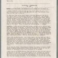 Tangen Christmas Letter, 1966