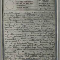 1943-06-21 Laura Davis to Lloyd Davis Page 1