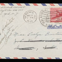 1945-11-22 Carroll Steinbeck to Evelyn Burton - Envelope