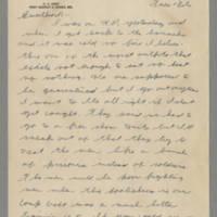 1942-10-27 Lloyd Davis to Laura Davis Page 1