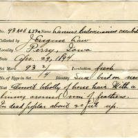 John Eugene Law, egg card # jel001