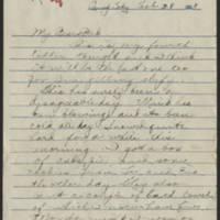 1918-02-28 Thomas Messenger to Mr. N.H. Messenger Page 1