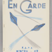 En Garde, whole no. 4, Winter 1942
