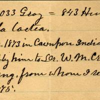 Clinton Mellen Jones, egg card # 562