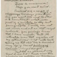 1917-10-25 Robert M. Browning to Mavel C. Williams Page 1