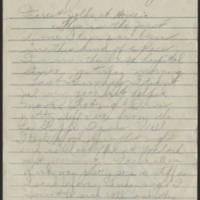 1918-01-08 Thomas Messenger to Mr. & Mrs. N.H. Messenger Page 1