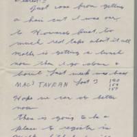 1942-02-15 Lloyd Davis to Laura Davis Page 1