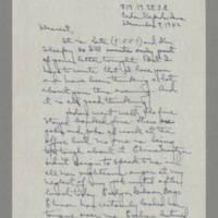 1942-12-08 Laura Davis to Lloyd Davis Page 1