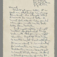1942-07-29 Laura Davis to Lloyd Davis Page 1