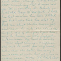 1917-12-20 Daphne Goodenough to Conger Reynolds Page 2