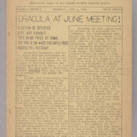 Queens SFL Bulletin, v. 1, issue 3, whole no. 4, June 4, 1941