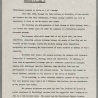 1966-06-14 The University of Iowa News Service: News Release Page 1