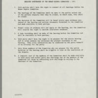 1971-11-17 Hearing Procedures of the Human Rights Committee