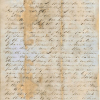 McDowell family papers, 1857-1863