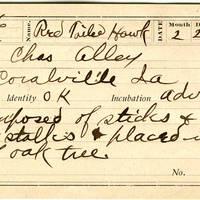 Charles Alley, egg card # ca004u