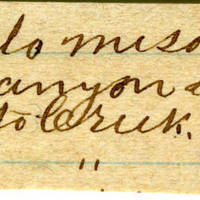 Clinton Mellen Jones, egg card # 676