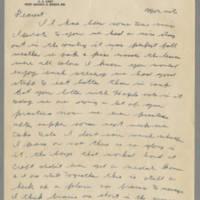 1942-11-03 Lloyd Davis to Laura Davis Page 1
