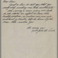 1945-10-17 S/Sgt. John B. Combs to Dave Edler