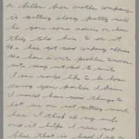 1943-01-07 Lloyd Davis to Laura Davis Page 2