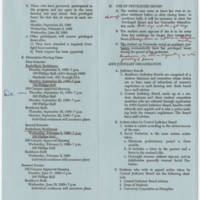 """1968-09-18 Statistics and """"""""Blue Book: Regulations For Undergraduate Women"""""""" Page 7"""
