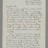 1943-12-19 Laura Davis to Lloyd Davis Page 1