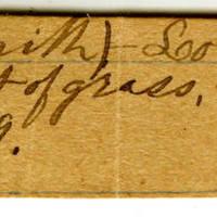 Clinton Mellen Jones, egg card # 832
