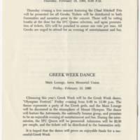 1965-02-14 Greek Week 1965, February 14-19, 1965 Page 8
