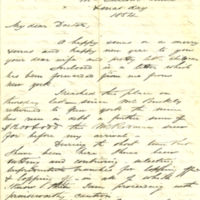 Correspondence regarding the Lindsay Mine in North Carolina, 1855-1868