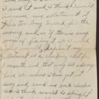 1918-08-21 Harvey Wertz to Mr. L.A. Wertz Page 2