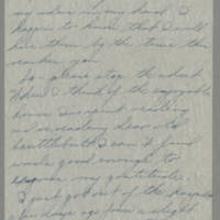 1946-03-06 Sgt. Bill Arnold to Dave Elder Page 1