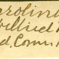 Clinton Mellen Jones, egg card # 694