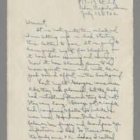 1942-07-13 -- 1942-07-15 Laura Davis to Lloyd Davis Page 1