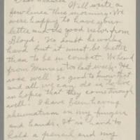 1943-10-04 Laura Hutchison to Laura Frances Davis Page 1