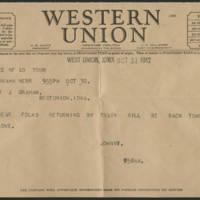 1942-10-30 Telegram