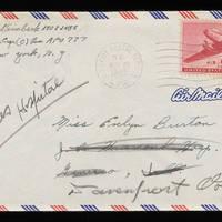 1945-11-25 Carroll Steinbeck to Evelyn Burton - Envelope