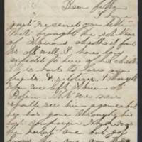 1863-07-04 Charles A. Gates to Mr. Arad Gates Page 1