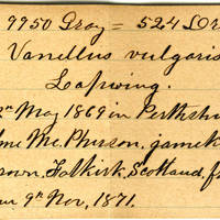 Clinton Mellen Jones, egg card # 566