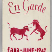 En Garde, whole no. 2, June 1942