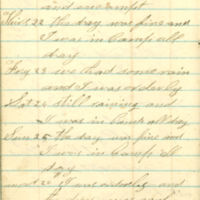 1863-10-22 -- 1863-10-27