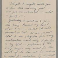1942-06-30 Maurice Hutchison to Laura Davis Page 1
