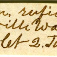 Clinton Mellen Jones, egg card # 474
