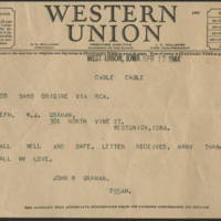 1944-04-17 Telegram