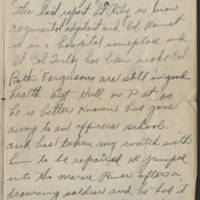 1918-10-23 Harvey Wertz to Mr. L.A. Wertz Page 2