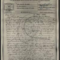 1945-05-09 Sgt. H.L. Johnson to Dave Elder