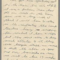 1942-07-13 Lloyd Davis to Laura Davis Page 1