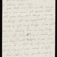 Carroll Steinbeck to Alfred and Vira Steinbeck Page 2