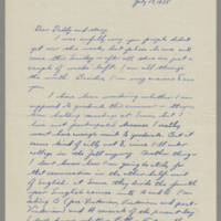 1935-07-17 Joseph Evans to John Evans Page 1